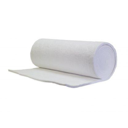 "8 lb. Density 1"" Thick 48"" Wide Ceramic Fiber Blanket"