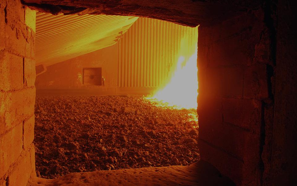 Large Commercial Boiler