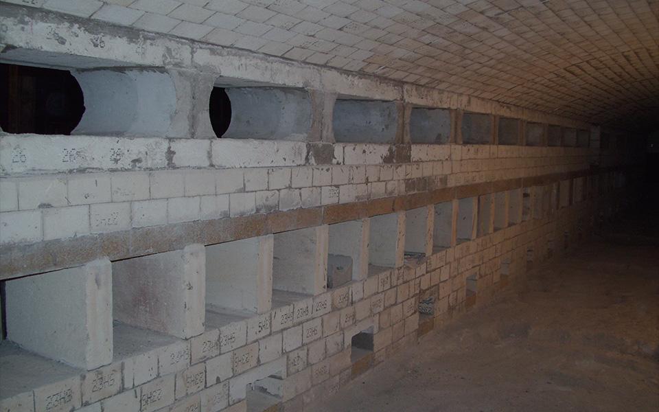 Large Furnace Brick Reline